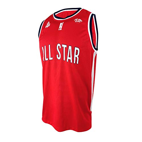 Ligue Nationale de Basket Basketball Basketball-Trikot Selection All Star Game 2019 Unisex XS rot