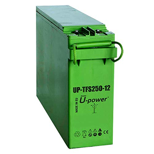Batería Solar AGM 12V 250Ah para Fotovoltaica | U-Power UP-TFS250-12