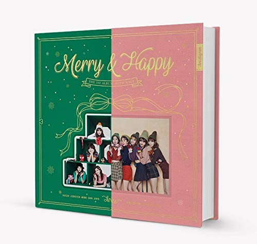TWICE - Merry & Happy [Merry ver.] CD+Photobook+Photocard+Sticker+Free GIft