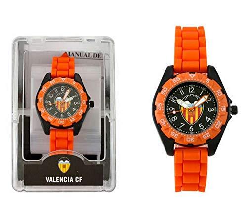 LICENCIAS Reloj Infantil Valencia CF, Adultos Unisex, (Naranja), Talla Única