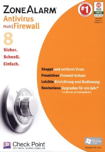 ZoneAlarm Antivirus 8 Plus Firewall