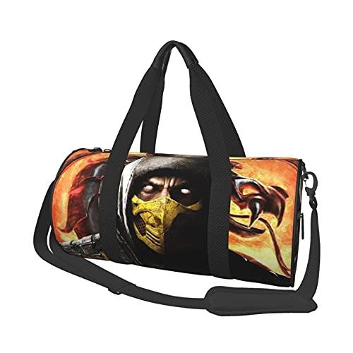 Scorpion Reisetasche Modische und neuartige Lage-Tasche, Sport- und Fitn-Handtasche, LargeCaity Bla.