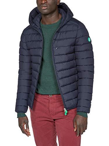 SAVE THE DUCK UOMO Abbigliamento Blu Scuro D3712M RECY XXL