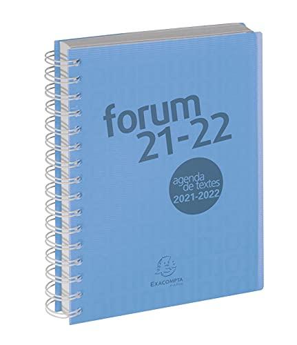 Schülerkalender 2021/2022 Forum Office Linicolor DIN A5: Schülerkalender A5 mit Doppelspirale & Gummizug