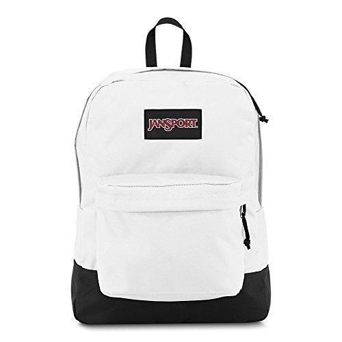 JanSport Black Label Superbreak Backpack - Lightweight School Bag, White