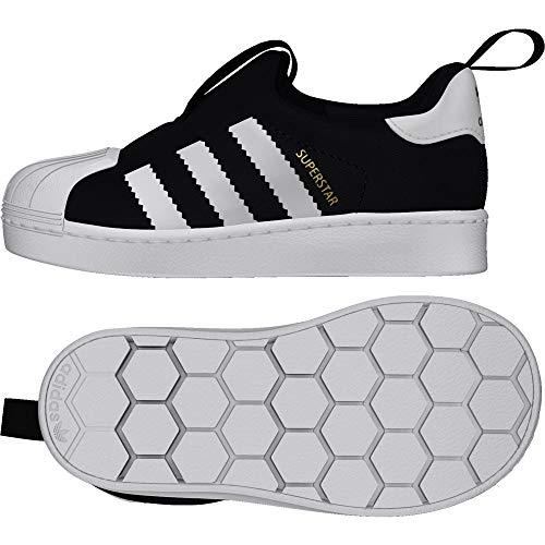 adidas originals Kinderschuhe (Jungen - Lauflernschuhe) Superstar 360 I Trainers - Core Black/ White 23 EU