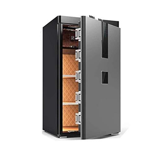 RTYUI Seguro, hogar antirrobo todo acero cajas fuertes 80 cm/100 cm sola puerta nuevo gran archivo de oficina huella digital contraseña caja de seguridad en la pared armario caja de seguridad