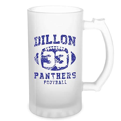 Dillon Panthers Football 33 Transparente taza de Stein de la cerveza 0.5L