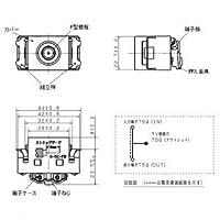 パナソニック(Panasonic) コスモシリーズワイド21 埋込ホーム用テレビコンセント送り配線用 利休色 WCS47618G