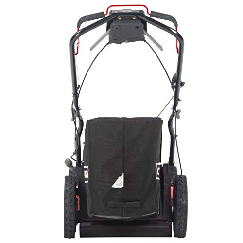 Craftsman CMXGMAM201212 12A-N2M7791 21-in. All-Wheel-Drive 3-in-1 Gas Push Lawn Mower-196cc OHV Engine-Bagger Included, Red