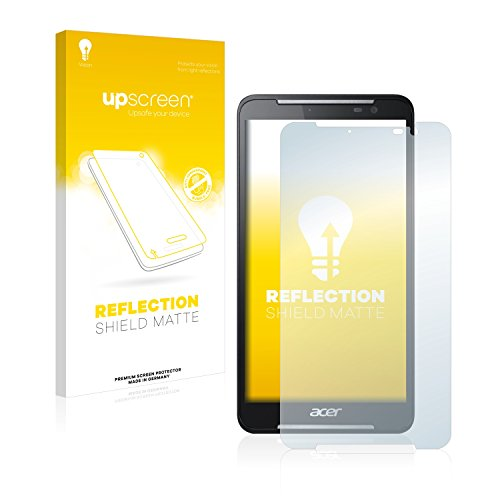 upscreen Entspiegelungs-Schutzfolie kompatibel mit Acer Iconia Talk S A1-724 – Anti-Reflex Bildschirmschutz-Folie Matt