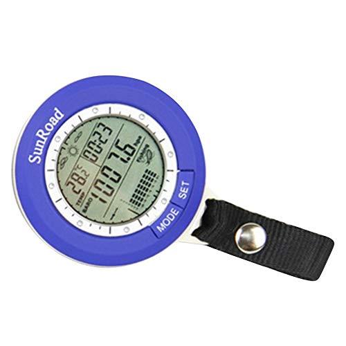 Wenjie Angeln Angeln Barometer Multifunktions-LCD Digital Outdoor Angeln Barometer Höhenmesser Thermometer