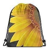 PageHar Sunflower Drawstring-Backpack-Bulk-Large Drawsting Bag Kinder Drawstring Backpack String Bag