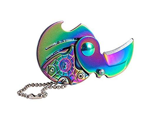 zhaolian888 Kleine Größe Klappmesser im Freien Verwendet Und Indoor Kann in Die Brieftasche - EIN Wunderbares Werkzeug (Viele Farbe)