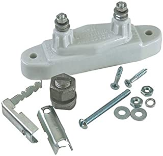 Dare LA-112 Electric Fence Lightning Arrestor Kit c/w Wire Clamp, Ground Rod Clamp and Mounting Screws, Tested and Proven ...