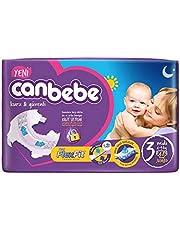 Canbebe Bebek Bezi Avantaj Paket Jumbo 3 Beden Midi 4-9 Kg 48 Adet