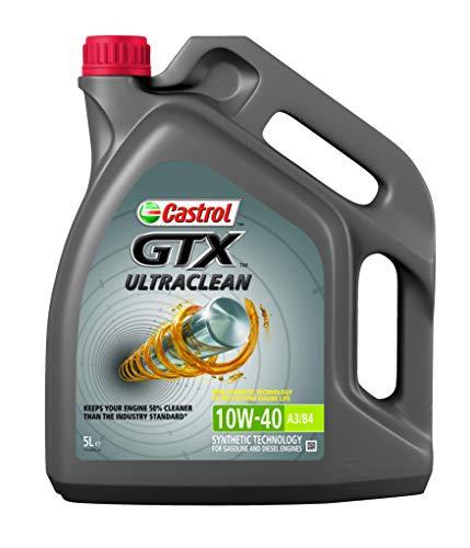 CASTROL Motoröl Öl GTX ULTRACLEAN 10W-40 10W40 A3/B4 - 5 Liter