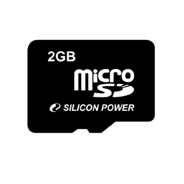 評議会評議会エンゲージメントシリコンパワー microSDカード 60倍速 2GB 永久保証 SDアダプターなし SP002GBSDT000V00