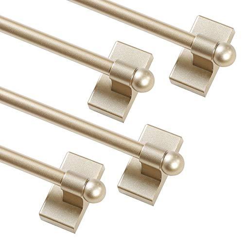 Turquoize - Barra magnética para cortina, multiusos, ajustable, barra magnética