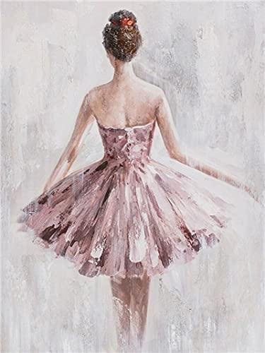 Diy diamante pintura niña decoración del hogar diamante bordado bailarina mosaico retrato hecho a mano regalo diamante arte A5 60x80cm