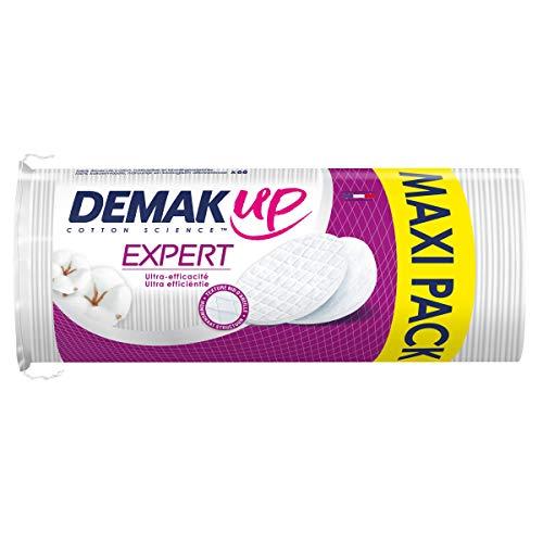 Demak'Up Expert - Coton à démaquiller Ovale - lot de 4 paquets de 68 cotons