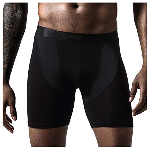 Allence Herren Sport Kompressionshose Laufhose Baselayer Leggings Trainingshose Shorts