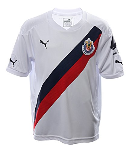 Puma Chivas KIDS Away 2016/17 Replica Jersey-WHITE (YM)