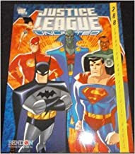 Justice League Unlimited 288 Coloring and Activity Pages