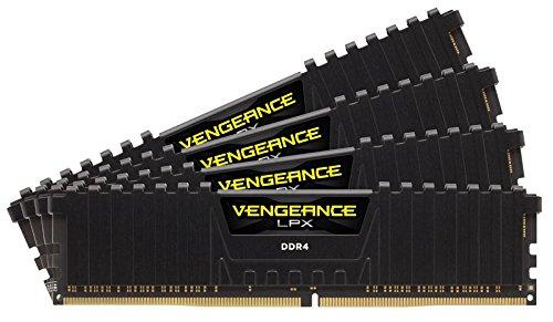 Corsair Vengeance LPX Memorie per Desktop a Elevate Prestazioni con Airflow Fan, 32 GB (4 X 8 GB), DDR4, 2800 MHz, C16 XMP 2.0, Nero