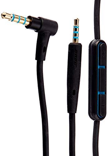 Bose QuietComfort 25 Kopfhörer-Kabel mit Inline-Mikrofon und Fernbedienungfür Samsung/Android Gerät, schwarz
