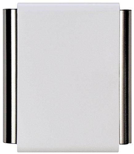 Craftmade CTPW-W Designer Pewter Tubes Door Chime, White (8.38'H x 7'W)