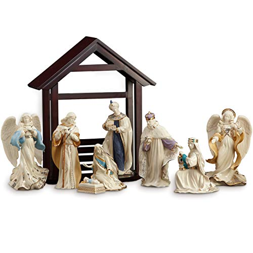 Lenox First Blessing Nativity 10-Piece Set, 19.55 LB, Multi