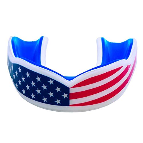 Oral Mart USA Flag Mouth Guard for Adults