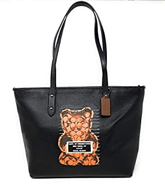 Coach Crossgrain Leather City Zip Tote, Style F37785