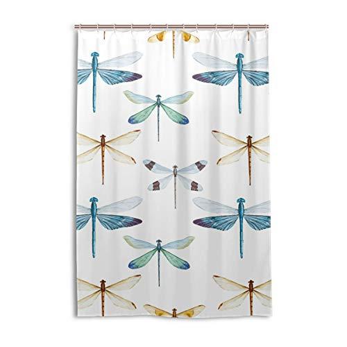 cortinas ducha libelulas