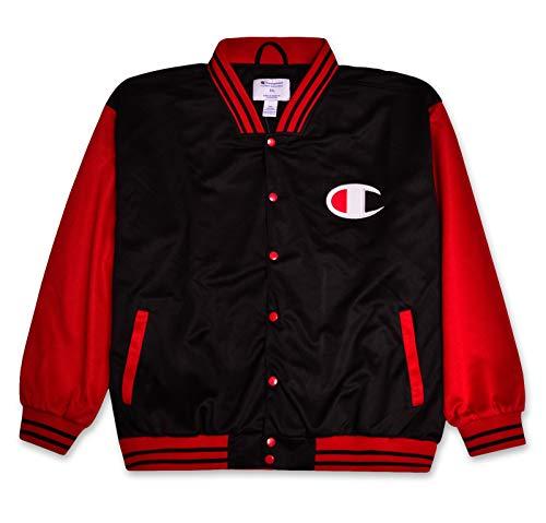 Mens Champion Jacket Big And Tall Jackets For Men Varsity Bomber Jacket Men