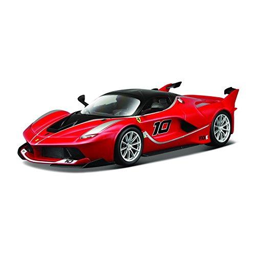 Bburago B18-16010 Ferrari FXX-K 15616010R-1:18, Rot/Schwarz