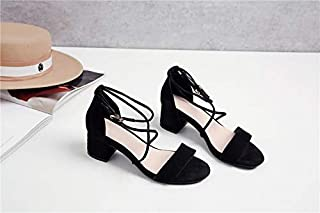 más descuento MENGLTX MENGLTX MENGLTX Sandalias Tacones Altos New 2019 mujer Genuine Leather zapatos Woman Roman Sandals Peep-Toe High Heeled Summer zapatos Sandals  los nuevos estilos calientes