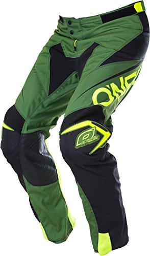 O'Neal Mayhem Lite Broek Blocker Zwart Wit MX Motocross Enduro Offroad Quad Pants, 0130A-1