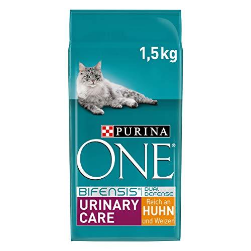 PURINA ONE BIFENSIS URINARY CARE Katzenfutter trocken, reich an Huhn, 6er Pack (6 x 1,5kg)