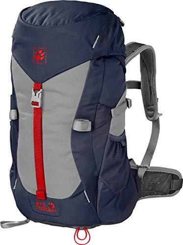 Jack Wolfskin Unisex-Kinder Alpine Trail sac à DOS de randonnée Wanderrucksack, Blau (Night Blue), One Size