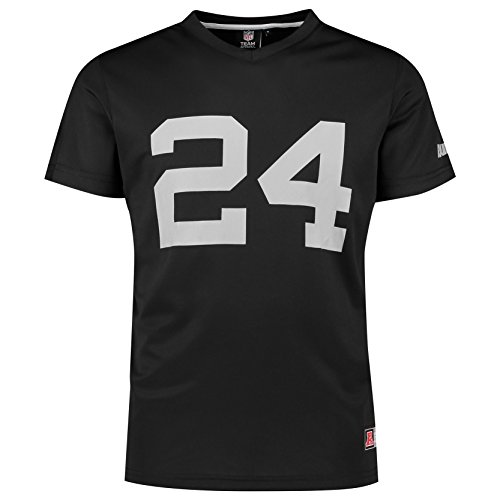 Majestic NFL Jersey Shirt - Oakland Raiders #24 Lynch - L