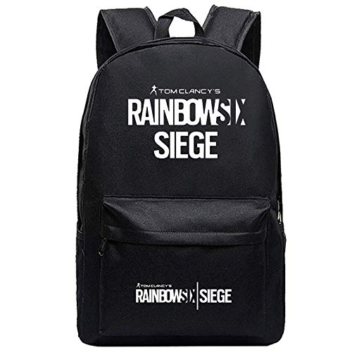 Canvas Printing Military Men Rucksack Spiel Tom Clancy's Rainbow Six Siege Reisetasche Unisex Student Laptop School Schultertasche (3)