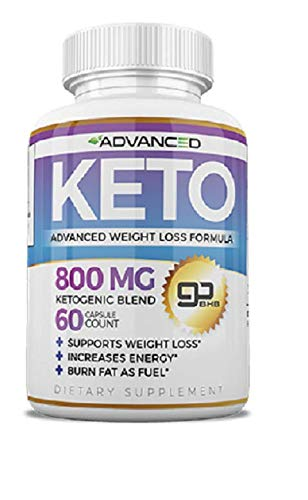 Advanced KETO Weight Loss Formula 60 Capsules - 1 Month Supply