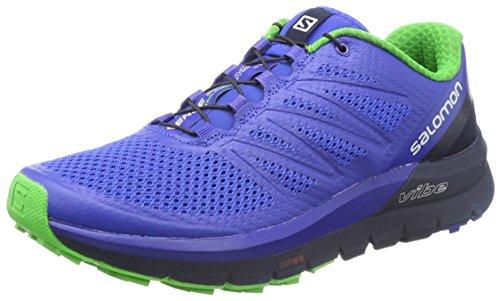 Salomon Sense Pro MAX, Zapatillas de Senderismo Hombre, Azul (Surf The Web/Navy Blazer/Classic Gr), 41 1/3 EU