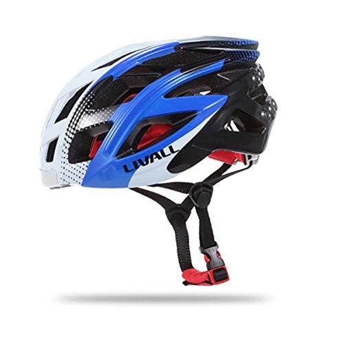livall Bling casco de bicicleta inteligente Bluetooth azul