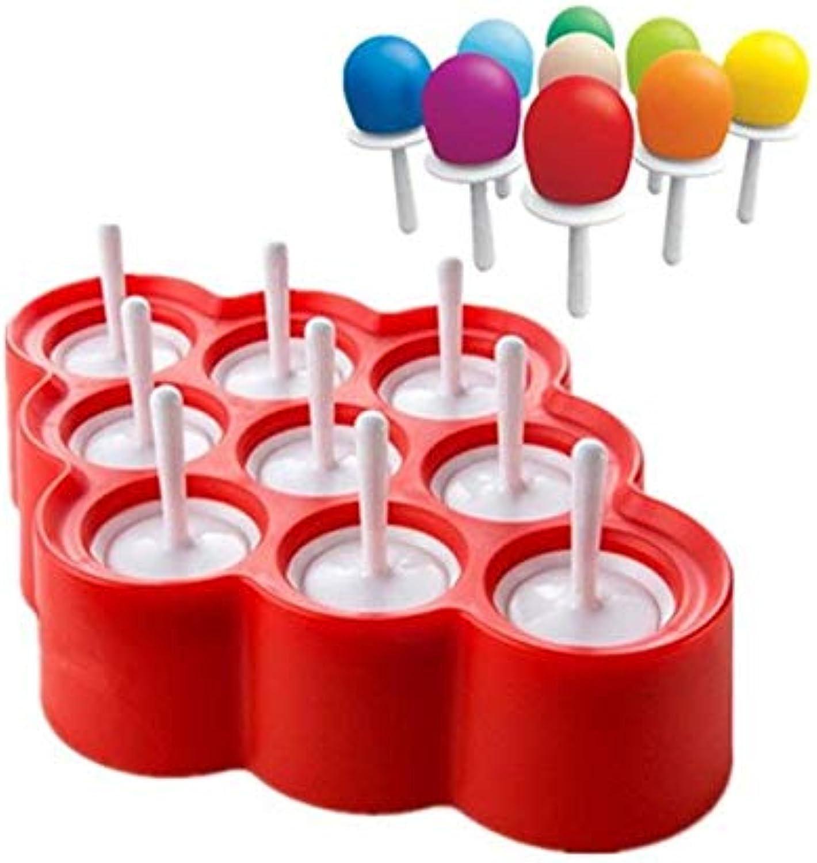 Popsicles Ice Silicone Molds Pops Ice Mini DIY Mold Cream