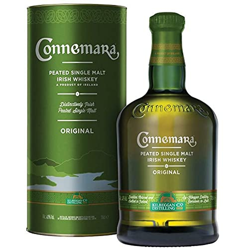 CONNEMARA ORIGINAL PEATED SINGLE MALT IRISH WHISKEY 70 CL IN ASTUCCIO