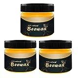 DressLksnf condimento de Madera Beewax SolucióN Completa Cuidado de Muebles Beewax Limpieza del Hogarmuebles de Abeja Natural Pulido A Prueba de Agua Y Cera Resistente Al Desgaste