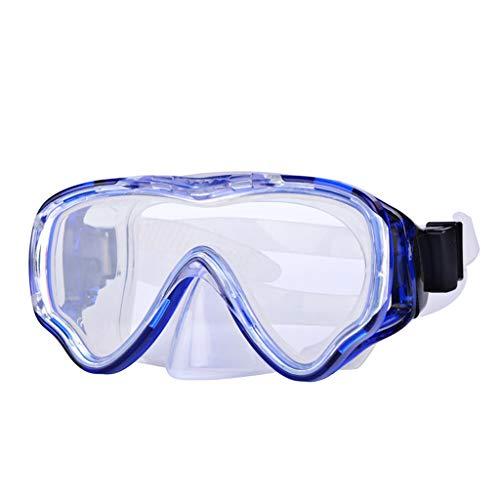 Yowablo Schutzbrille Transparente Augenschutzmaske Antibeschlag- und Antischaumbrille (1Stck,Blau)